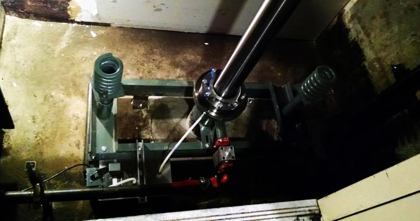 esr elevator hydraulic cylinder repair